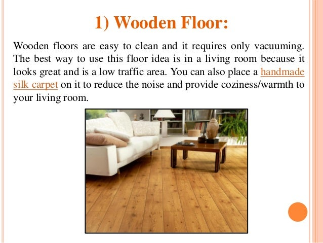 3 - Different Types Of Flooring For Living