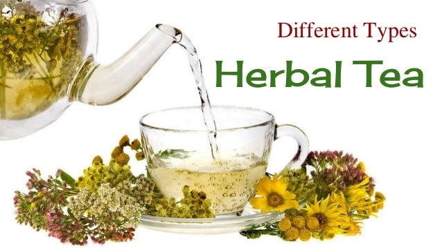 Different Types Of Herbal Tea