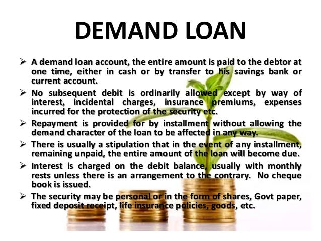 different types of loans offered by commercial banks