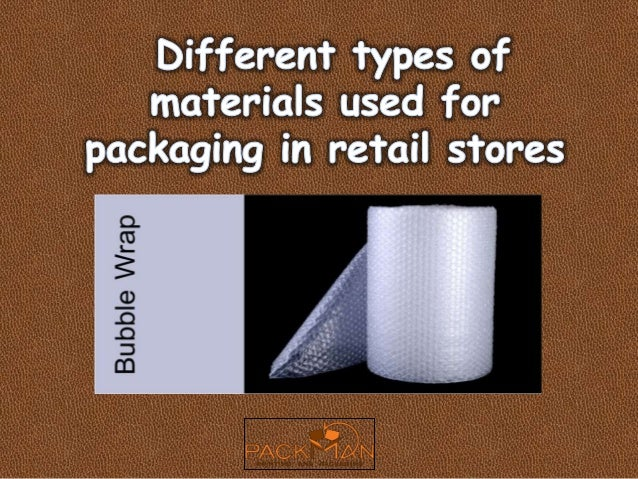 Different Types Of Materials Used For Packaging In Retail