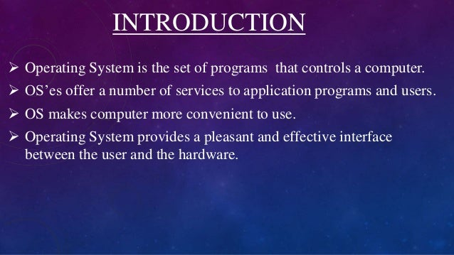 operating system and different types Parameters can also be pushed on or popped off the stack by the operating system 1122 types of system calls¶ there are 5 different categories of system calls.
