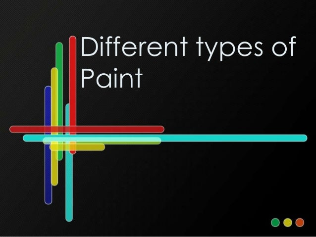 Different Car Paints