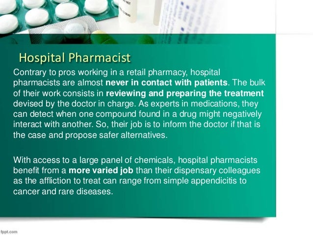 Different Types of Pharmacist Jobs Responsibilities and Roles – Pharmacist Duties