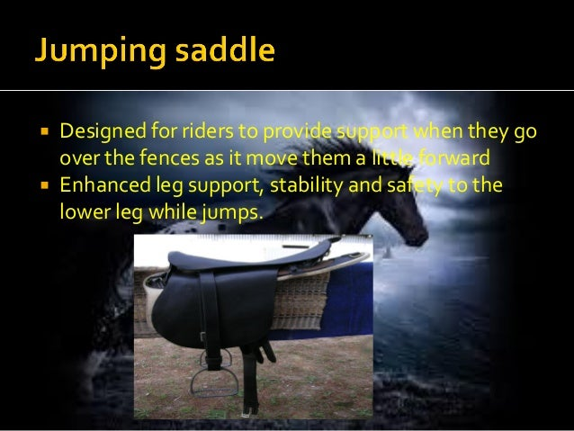 Different types of saddles and their uses