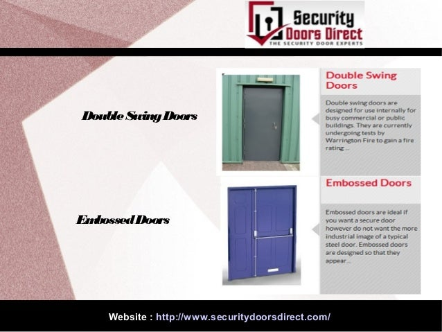 sc 1 st  SlideShare & Different types of specialist doors pezcame.com
