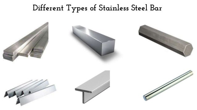 Different types of stainless steel bar