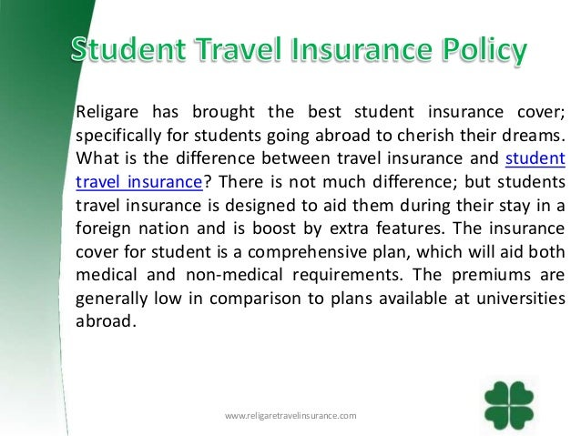 Student Travel Abroad Medical Insurance
