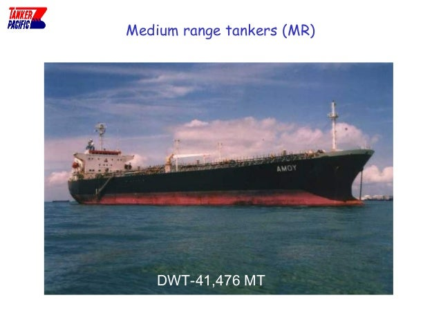 Different types of tankers