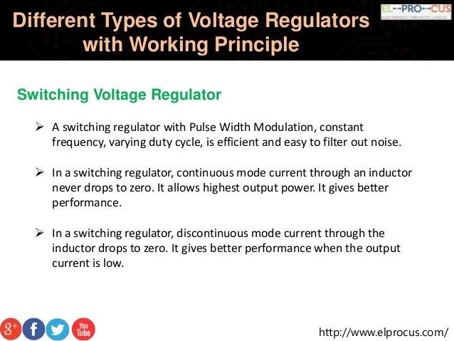 different types of voltage regulators pdf