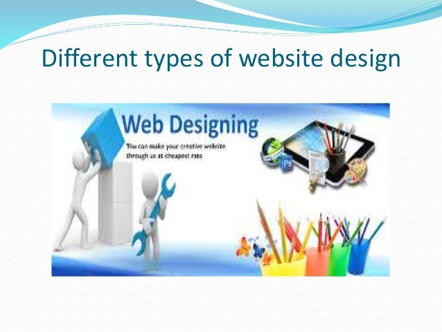 Different Types of Website Design