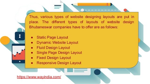 Different Types Of Website Design Layouts