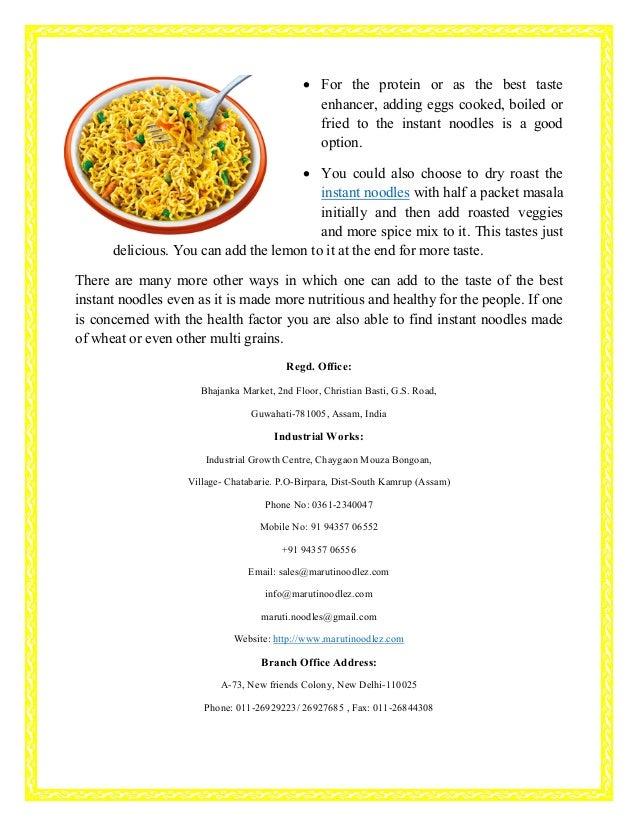 Different ways to make best instant noodles taste even great Slide 2