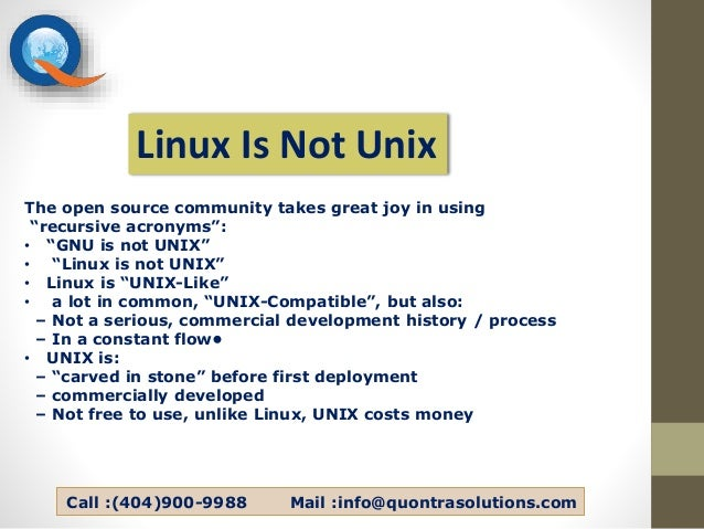 a comparison between windows and unix systems Unix & linux stack exchange is a question and answer linux and windows system if there is any difference between osx, linux and windows authentication.