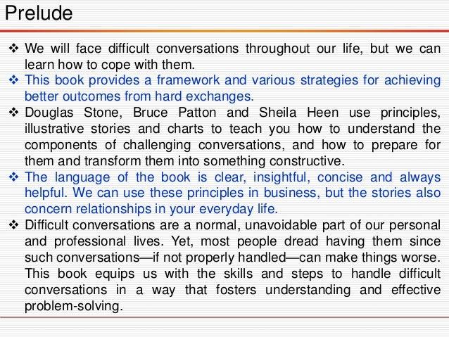 Difficult Conversation Slide 3