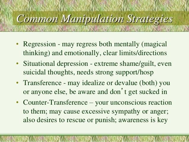 ✨ 5 behaviors of manipulative people