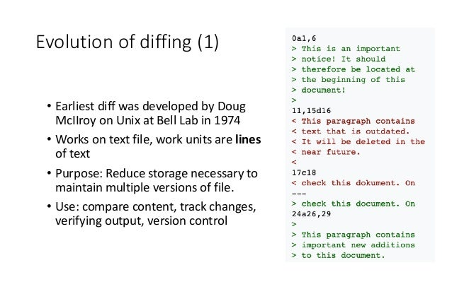 Data Diffing Based Software Architecture Patterns Slide 3