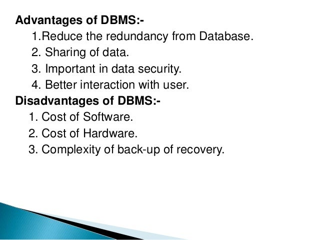 What is the dbm?