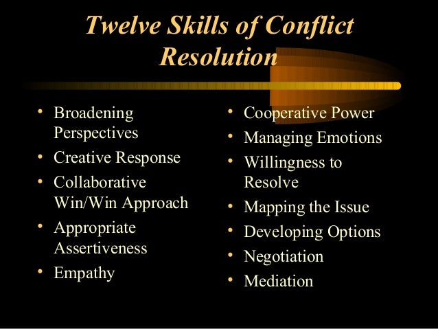 Leadership Guide for Handling Conflict
