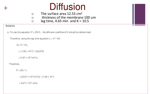 Diffusion (Physical Pharmacy)