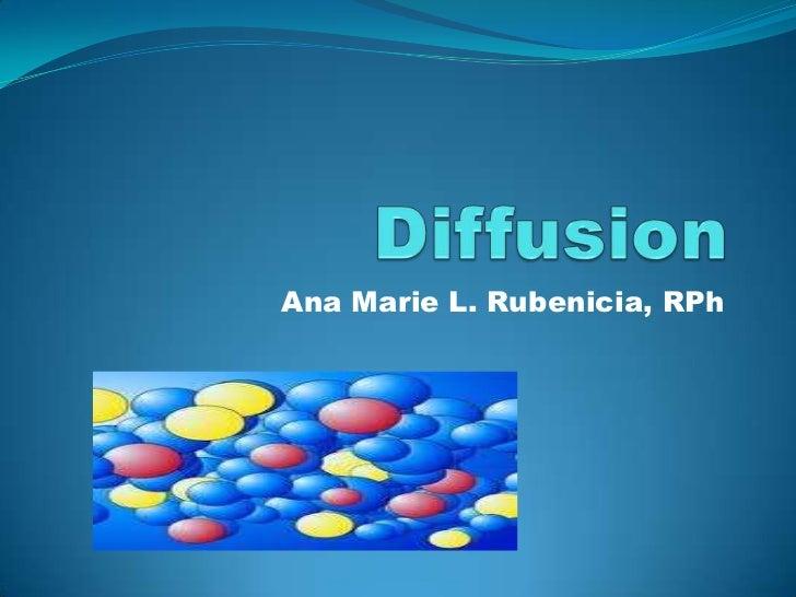 Ana Marie L. Rubenicia, RPh