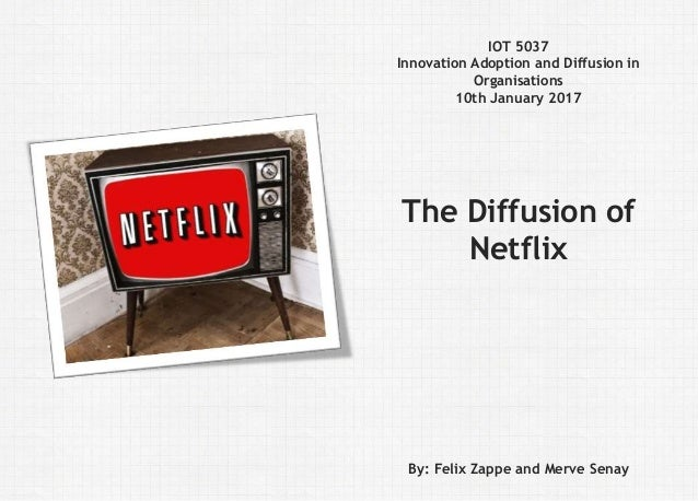 Felix Zappe23.03.2017Kurs: Thema | Fakultät | Institution Disclaimer IOT 5037 Innovation Adoption and Diffusion in Organis...