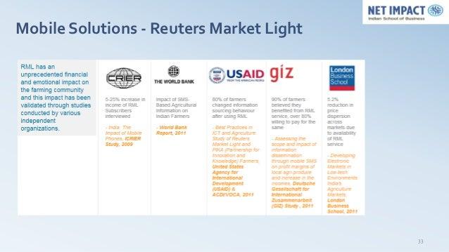Mobile Solutions - Reuters Market Light                                          33