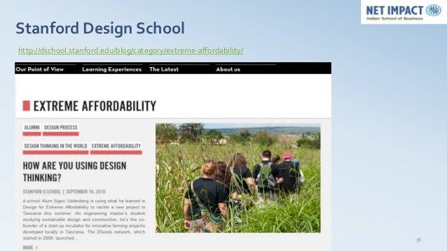 Stanford Design Schoolhttp://dschool.stanford.edu/blog/category/extreme-affordability/                                    ...