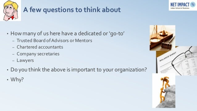 Finance, Accounting and Governance for non-profit @ Diffusion Pune 2012 Slide 3