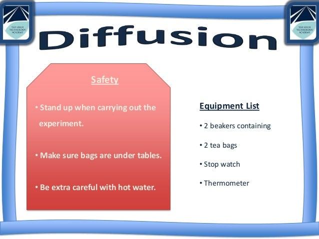 Diffusion worksheet ks3