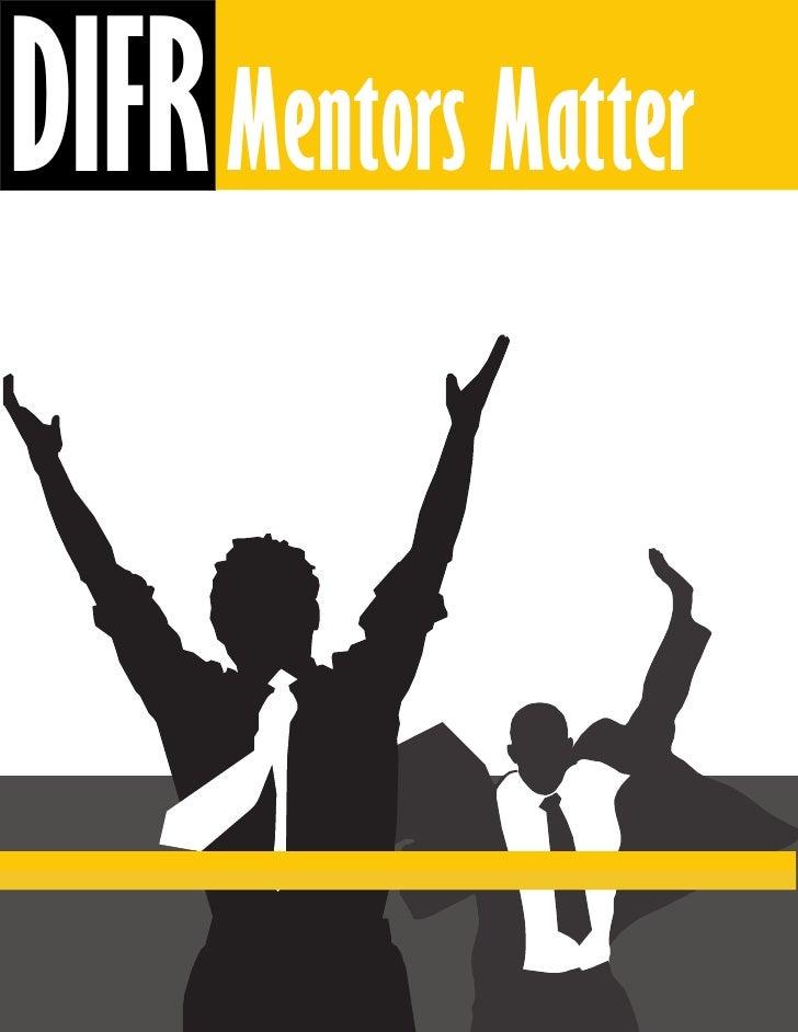 DIFR Mentors Matter