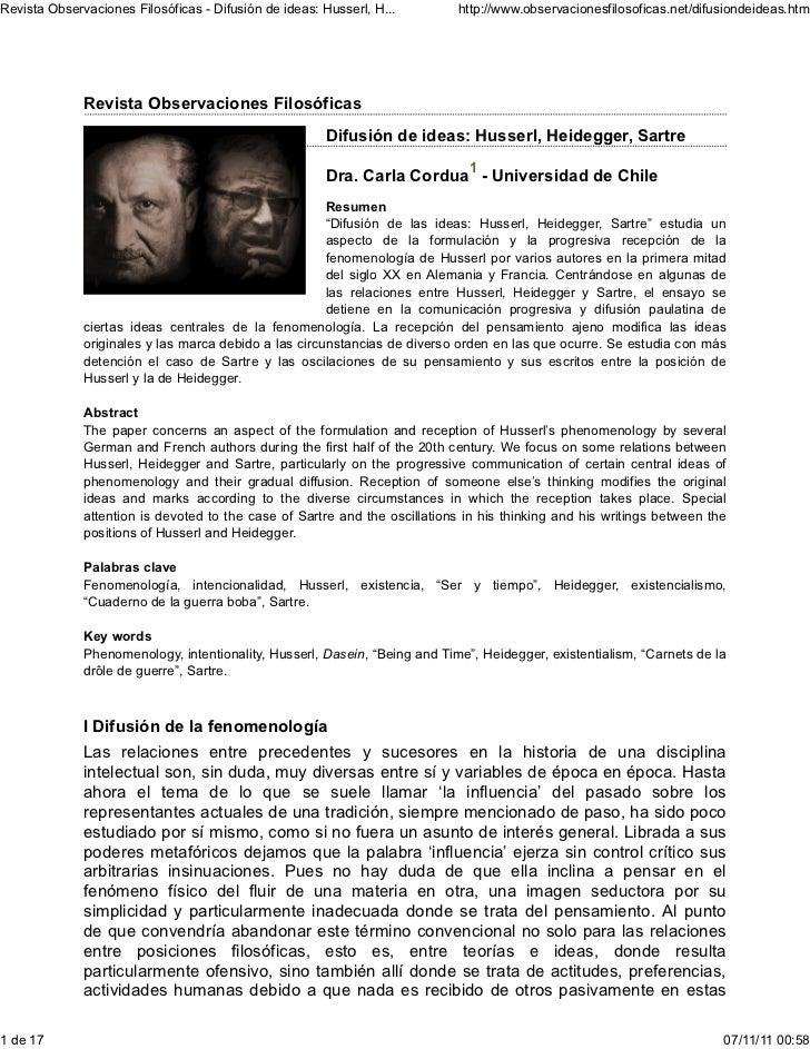 Revista Observaciones Filosóficas - Difusión de ideas: Husserl, H...        http://www.observacionesfilosoficas.net/difusi...