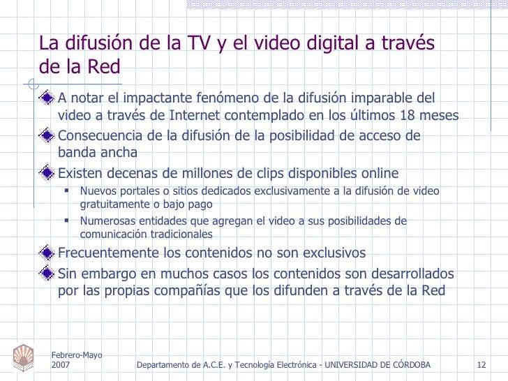 <ul><li>A notar el impactante fenómeno de la difusión imparable del video a través de Internet contemplado en los últimos ...