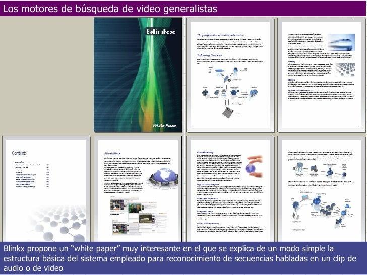 Los motores de búsqueda de video generalistas Febrero-Mayo 2007 Departamento de A.C.E. y Tecnología Electrónica - UNIVERSI...