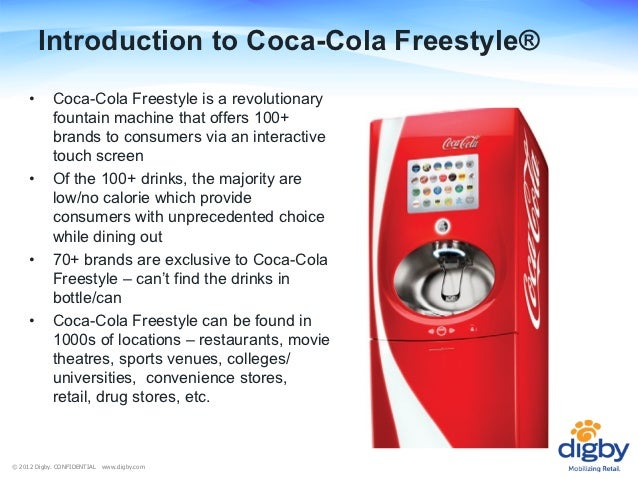Coca Cola Freestyle Location Marketing For Brands And