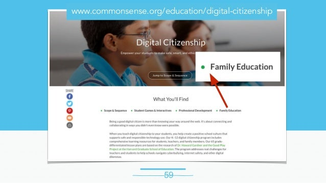 Digital Citizenship fro Modern Learners 2017