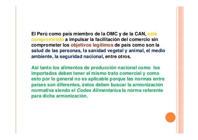 El Perú como país miembro de la OMC y de la CAN, está comprometido a impulsar la facilitación del comercio sin comprometer...