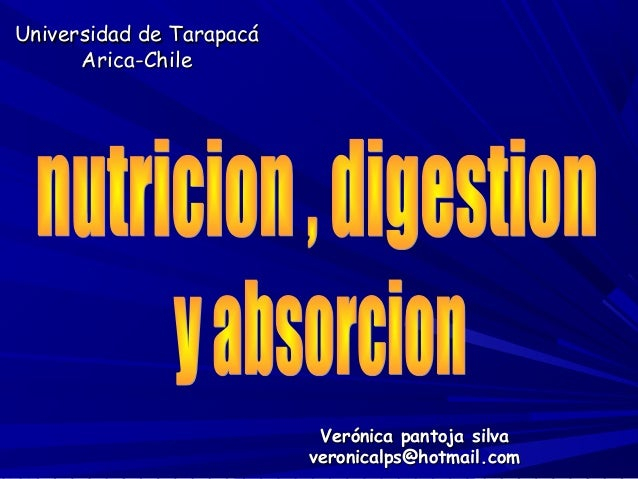 Universidad de TarapacáUniversidad de TarapacáArica-ChileArica-ChileVerónica pantoja silvaVerónica pantoja silvaveronicalp...