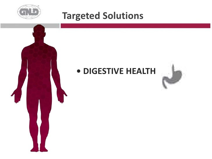 • DIGESTIVE HEALTH<br />Targeted Solutions<br />