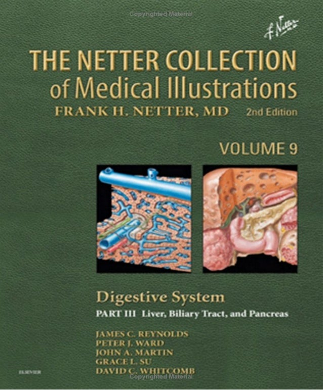 The Netter Collection OF MEDICAL ILLUSTRATIONS Digestive System Part III—Liver, Biliary Tract, and Pancreas 2nd Edition A ...
