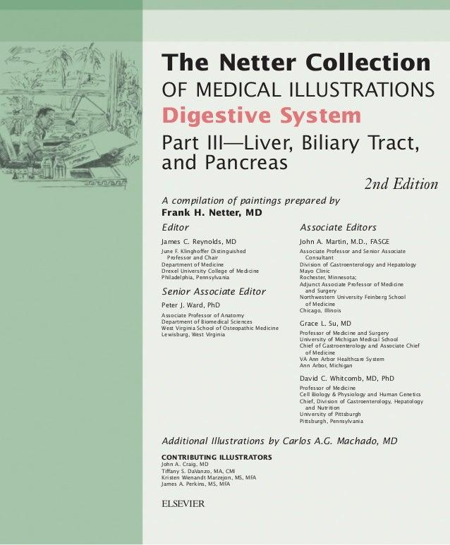 1600 John F. Kennedy Blvd. Ste. 1800 Philadelphia, PA 19103-2899 THE NETTER COLLECTION OF MEDICAL ILLUSTRATIONS DIGESTIVE ...