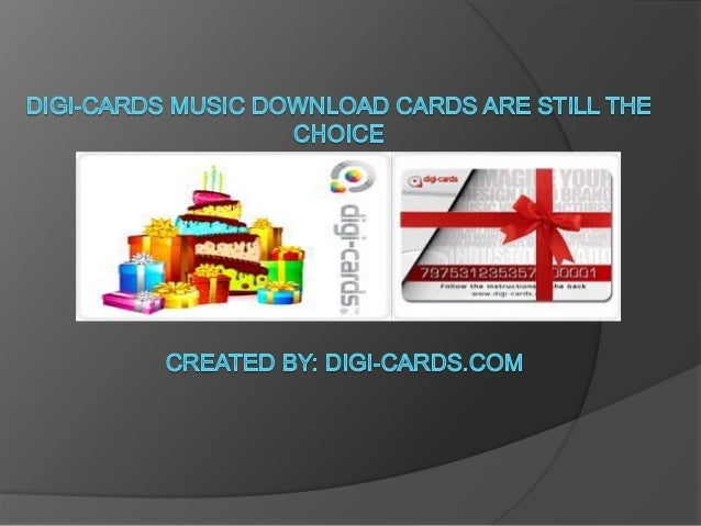 album download cards