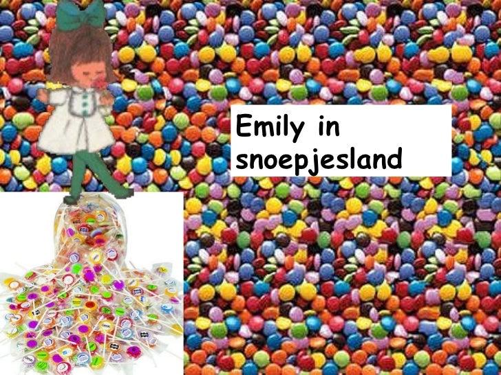 Emily in snoepjesland
