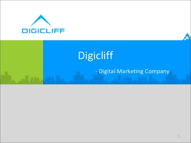 1 Digicliff - Digital Marketing Company