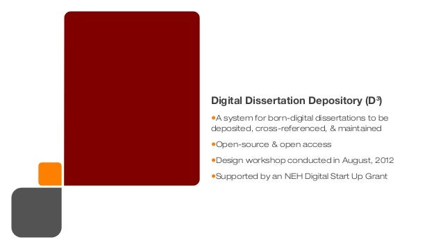 digital media dissertations Click here to view previous month's lists of most accessed dissertations and  the impact of texting and social media on students' academic writing skills.