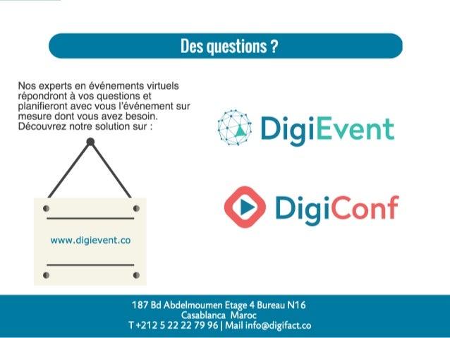 DigiEvent - Comment réussir un salon virtuel