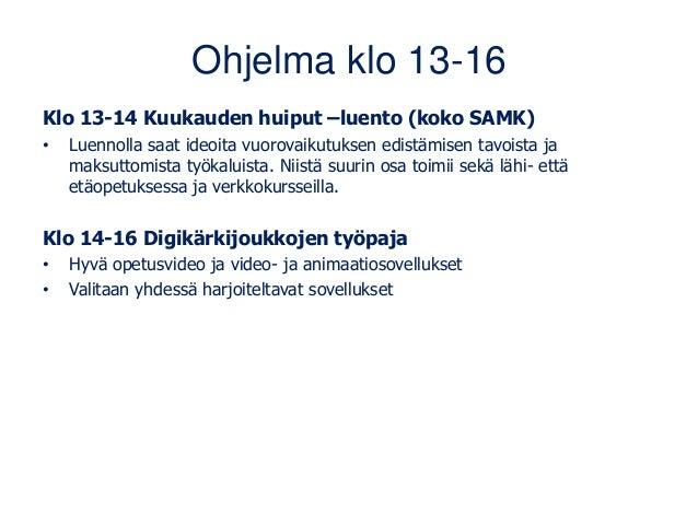 Digifasilitointi ja vuorovaikutus verkossa 19.2.21 Slide 2