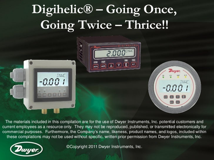 Digihelic® – Going Once,                Going Twice – Thrice!! The materials included in this compilation are for the use ...