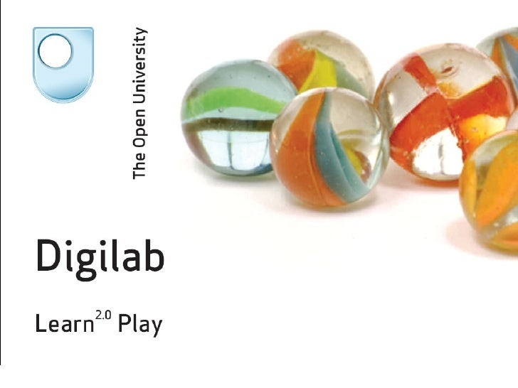 Digilab – Learn 2.0 Play   Keren Mills, SAALG 2009