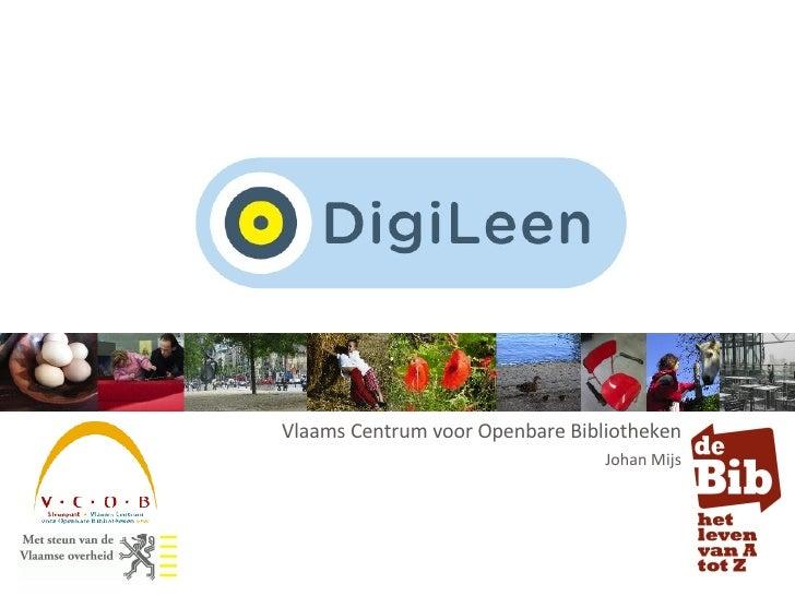 Vlaams Centrum voor Openbare Bibliotheken Johan Mijs