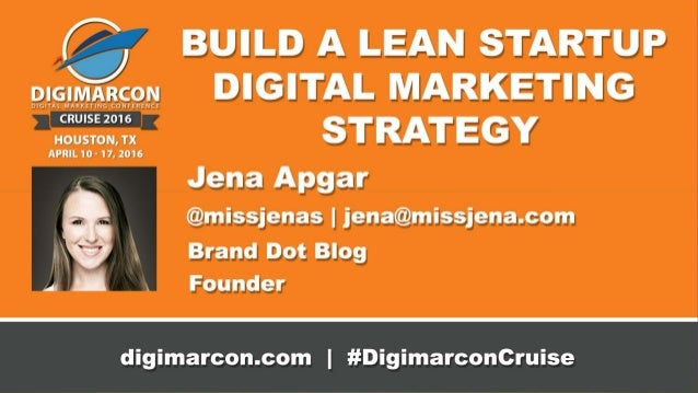 Does your business have a plan? Create an easy marketing strategy in under one hour built around lean startup concepts; le...